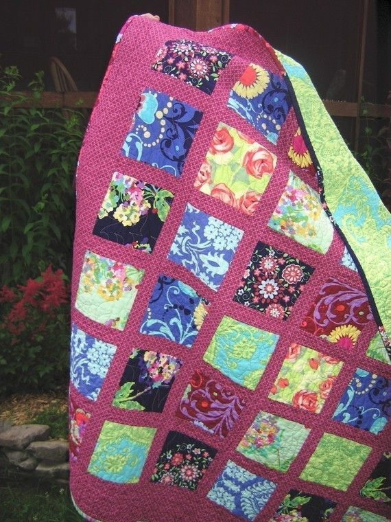 Quilt Pattern Simple Quick And Easy French Window Panes Etsy Pdf Quilt Pattern Modern Quilt Patterns Quilt Patterns