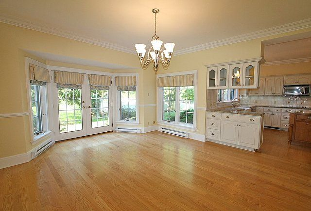 Kitchens With Bay Windowa Room Walkout Window And Double French