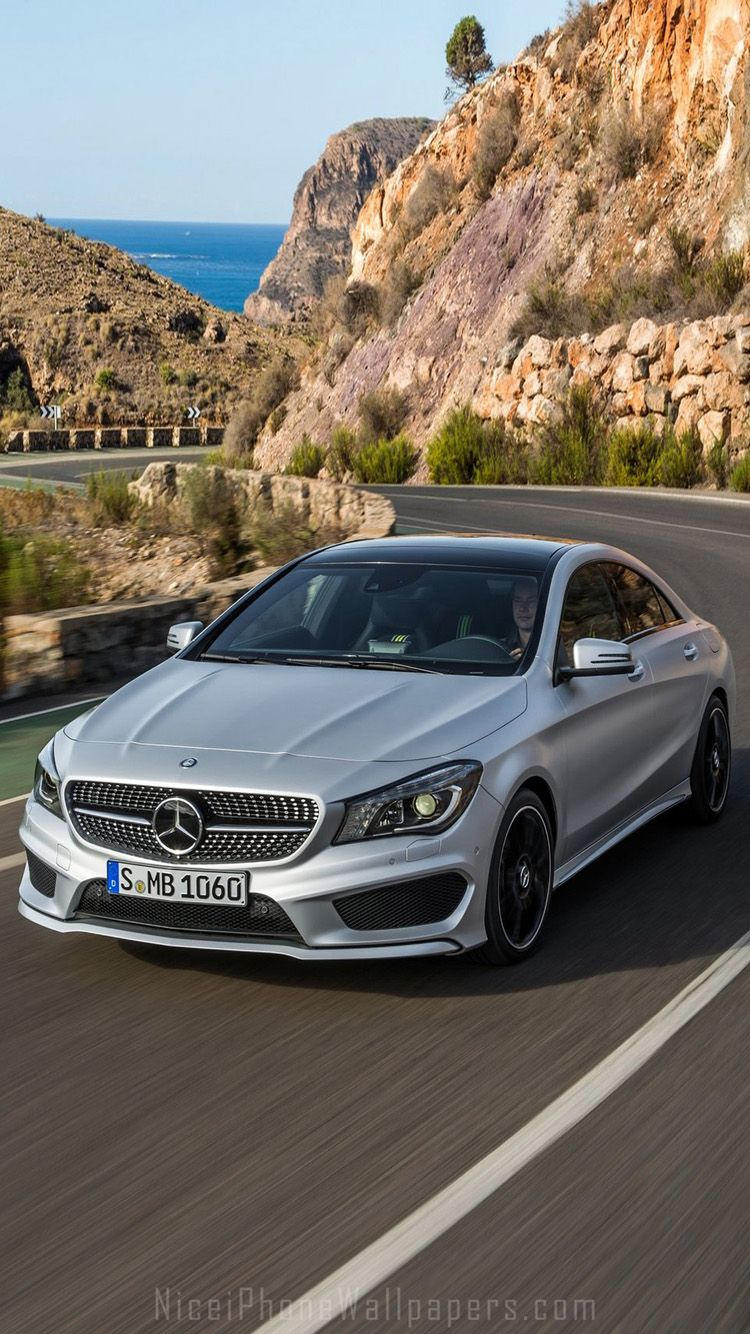 Mercedes Benz Cla Class 2013 Iphone 6 6 Plus Wallpaper With