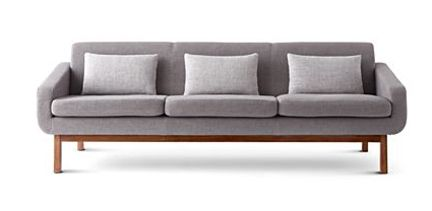 Cheap Sectional Sofas jonathan adler happy chic mid century sofa jcpenney