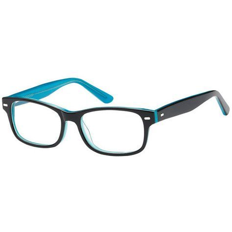 5f801f6f770 visiondirect Collection Jayden AM87 G Eyeglasses (56 AUD) ❤ liked on  Polyvore featuring accessories