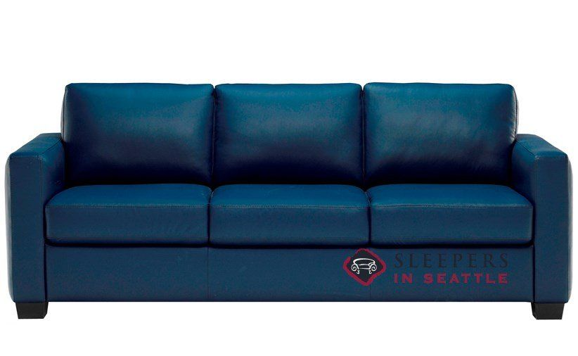 Blue Leather Sleeper Sofa   Best Collections of Sofas and ...