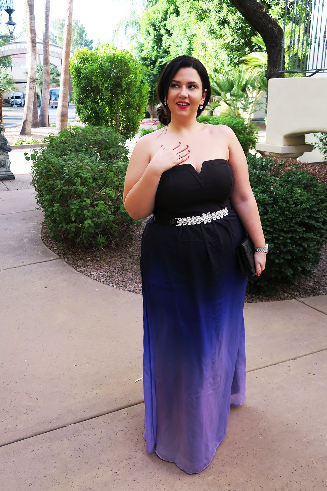 Plus Size Wedding Guest Formal Gown Dress Event Maxi Dress City Chic
