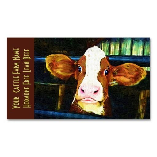 Cattle ranch veal funny cow business cards animal trainer cattle ranch veal funny cow business cards colourmoves