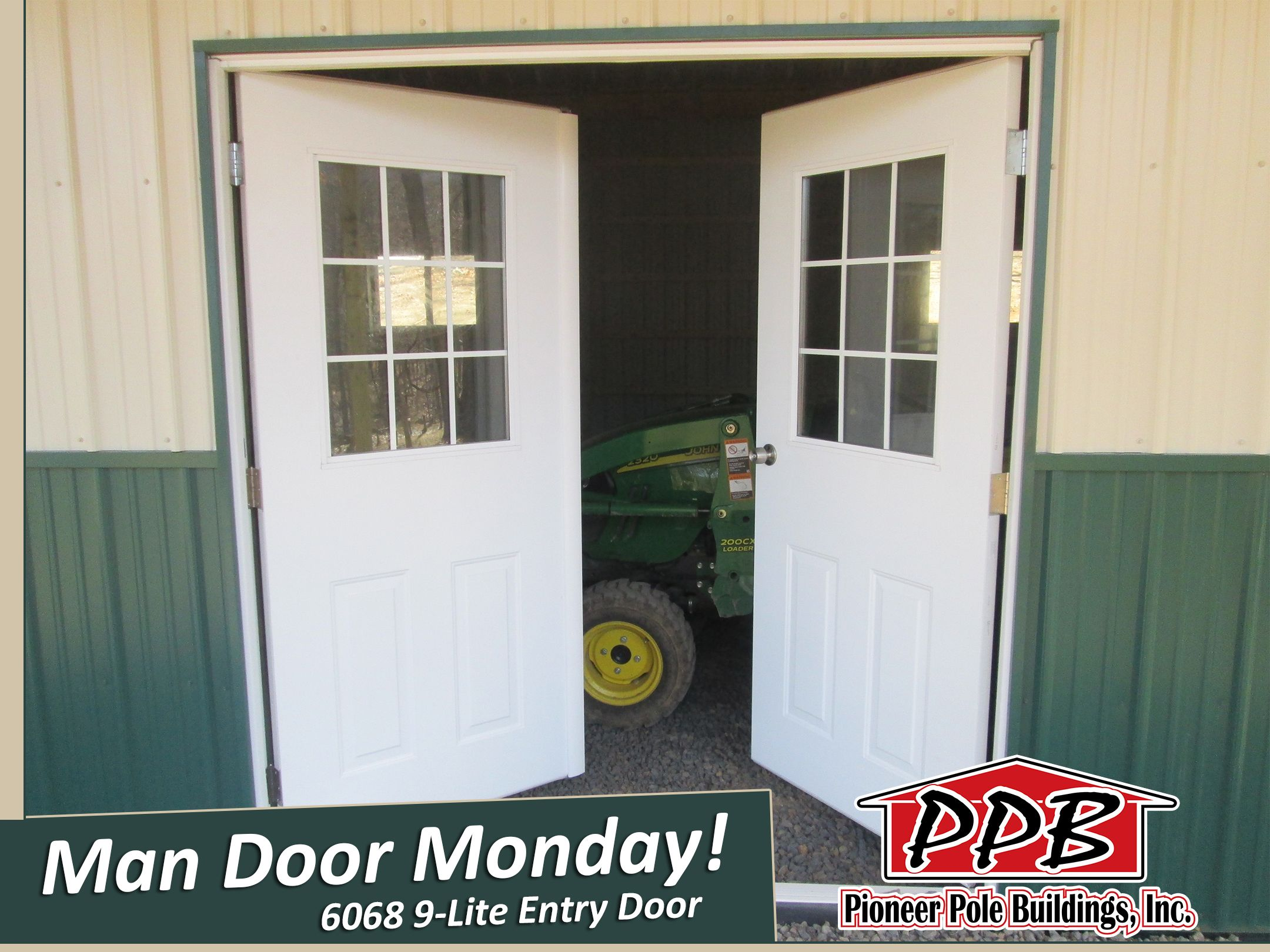 Man Door Monday Let Us Install One On Your Building 6068 9 Lite