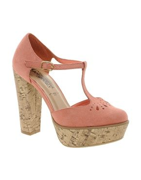 b80f1aee694e Image 1 of New Look Tinkerbell Platform Maryjane Shoes, like the shoe, not  color