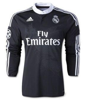 Camiseta Real Madrid tercera equipacion 2014 2015 ML  17a6e8df9713f
