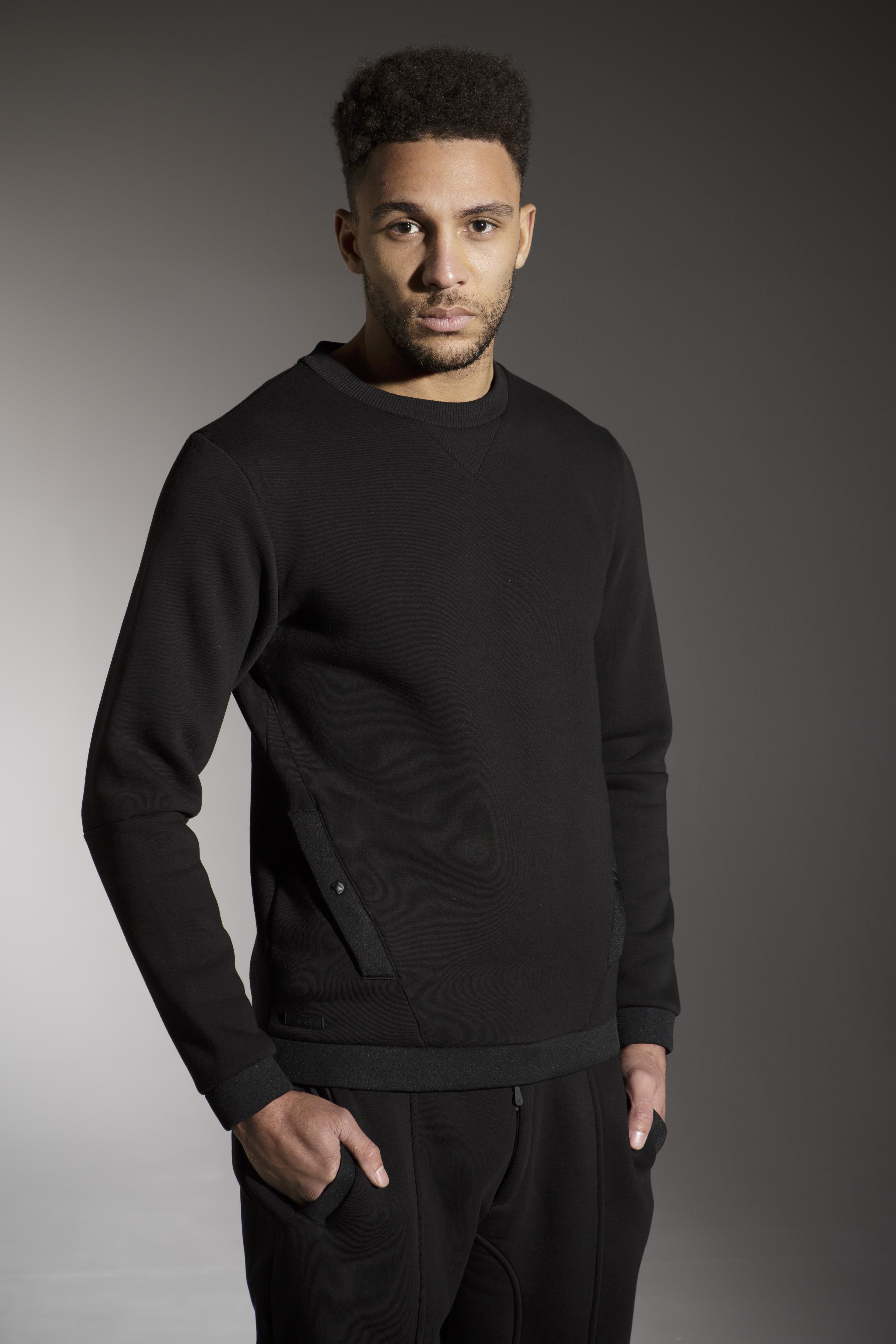 The 'GIGGS' Sweat - £50 - http://www.voijeans.com/blackout/giggs-sweat-black.html