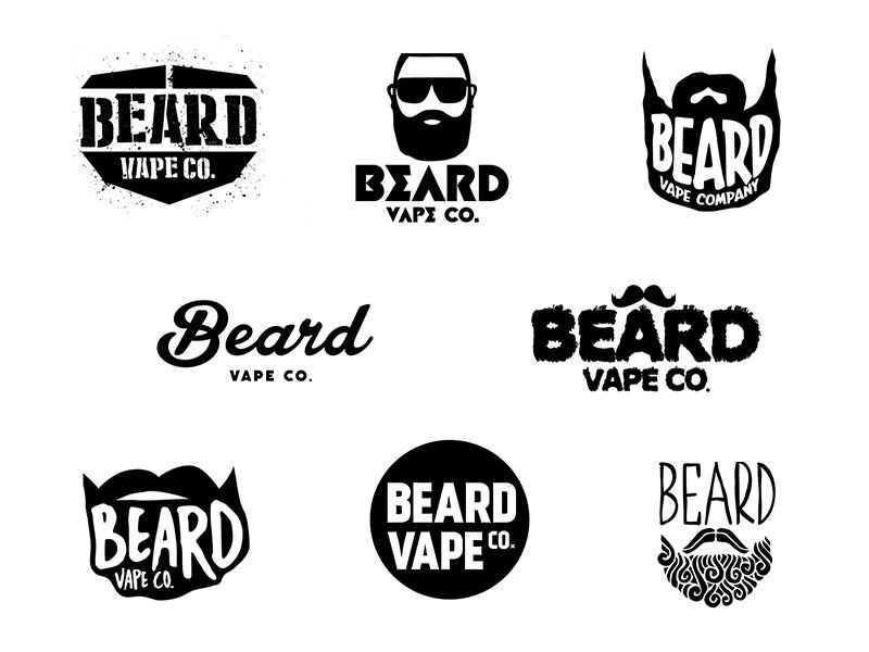 Beard Logo Design By Kentos