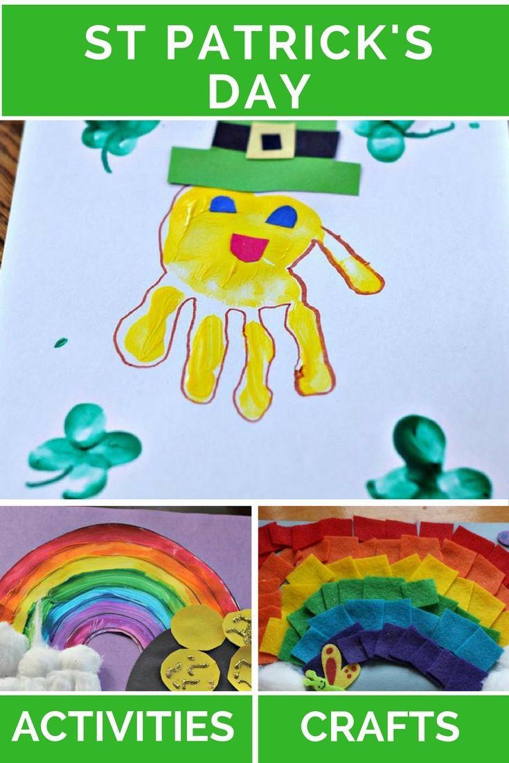 St Patrick's Day | Crafts | Activities | Leprechaun | Rainbow | Pot of Gold | Shamrock | Toddler | Preschooler