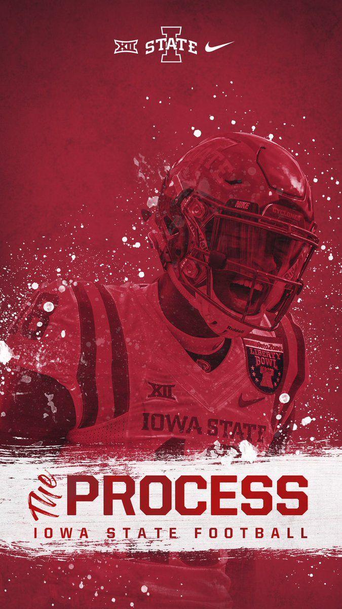 Iowa State Sports Design Inspiration Graphic Design Inspiration Football Art