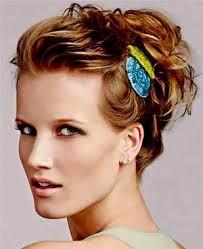 Resultado de imagem para ideias para prender ou fazer penteados em cabelos chanel ou curtos