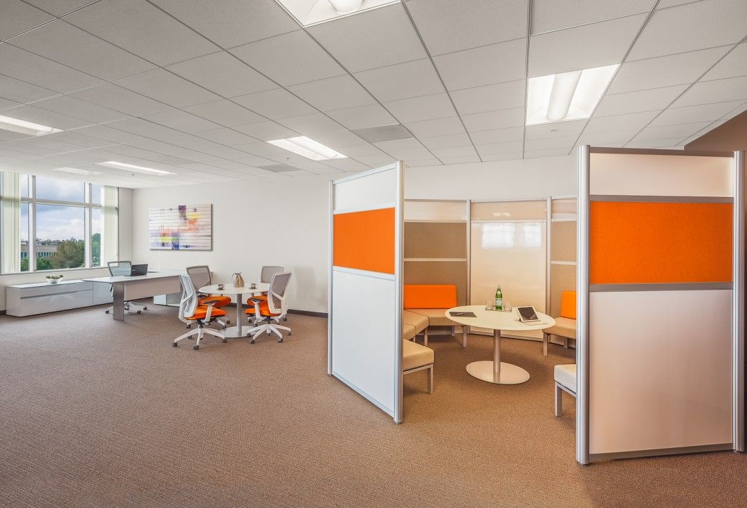 An Auto Finance Firm Updates Their Office To Bright And Modern Modern Office Furniture Office Furniture Modern Modern Office Design Creative Office Space