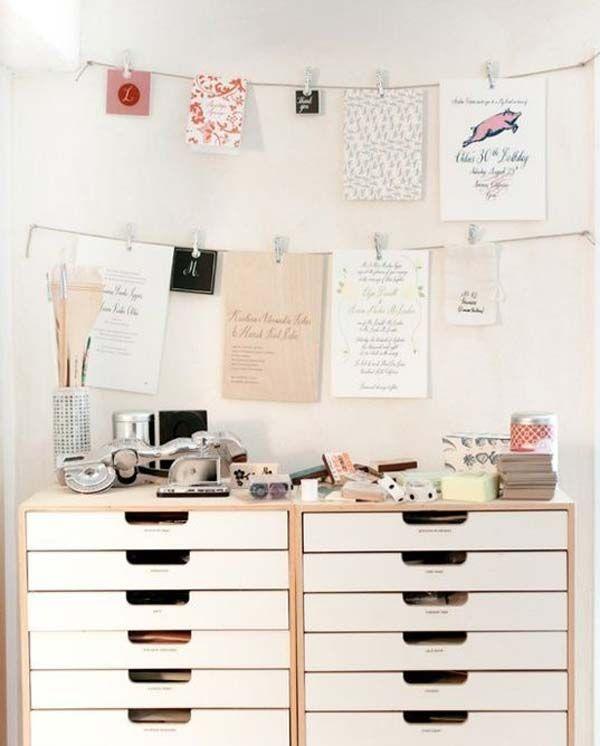 Brilliant Office Organization Ideas: Got A Cluttered Office? The Following Brilliant DIY
