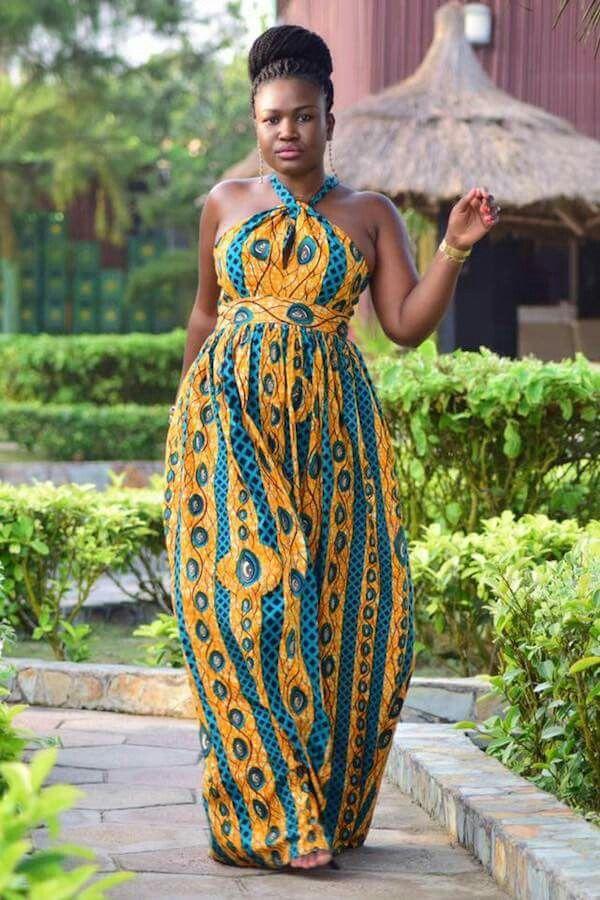 afrikanske kjoler