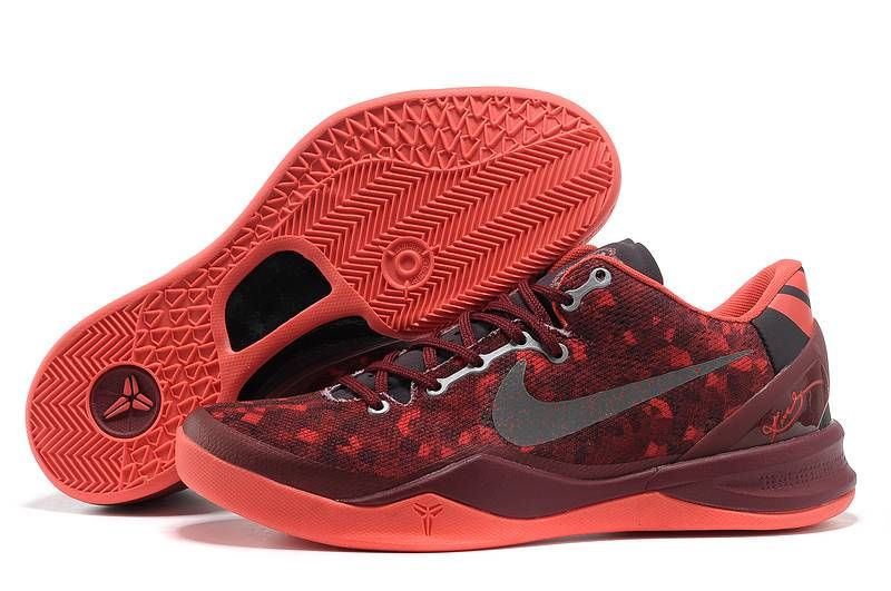 quality design b5d66 3d566 Cheap Burgundy Nike Zoom Kobe 8 VIII For Wholesale Shoes store sell the  cheap Nike Kobe