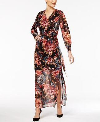 79fd65c687 Wedding Dresses · Bride Dresses · ECI Floral-Print Maxi Dress at Macy s  https   www.loveandlavender.