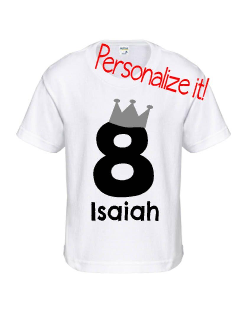 Personalized Birthday Shirt Etsyme 2EzEU8T