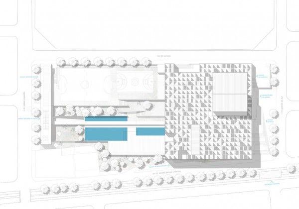 RECityMagazine Brasil - Arquitetura - Design - Visão urbana - Concurso SESC Franca – 1º Lugar / SIAA – Cesar Shundi Iwamizu