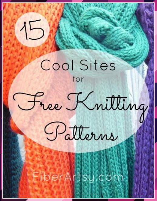 Free Knitting Patterns Online: 15 Great Websites ...