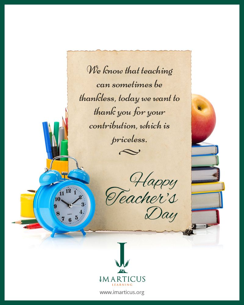 Imarticus Learning Wishes You Happy Teachers Day Http Imarticus Org Happy Teachers Day Wishes Teachers Day Wishes Teacher Appreciation Quotes