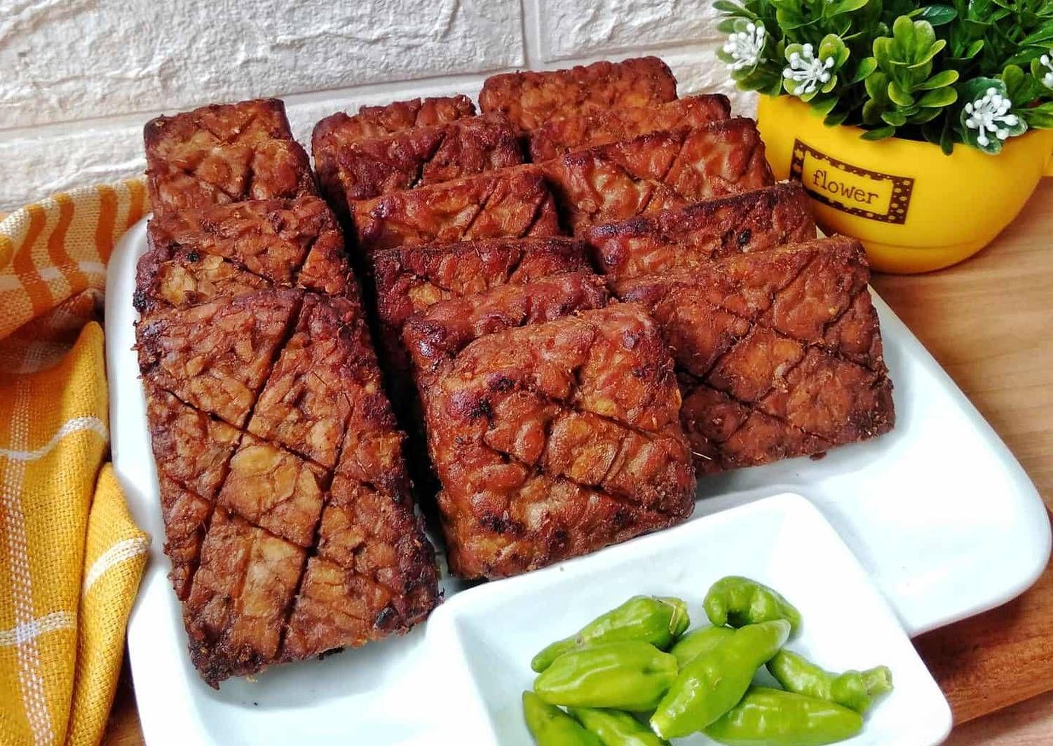 Resep Tempe Bacem Oleh Susan Mellyani Resep Resep Tempe Resep Masakan Resep Masakan Indonesia