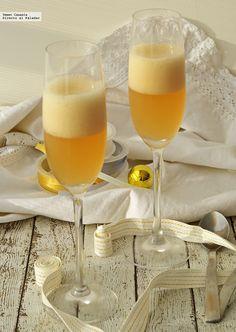Receta de gelatina tipo champagne. Con fotos del paso a paso y consejos de desgutación
