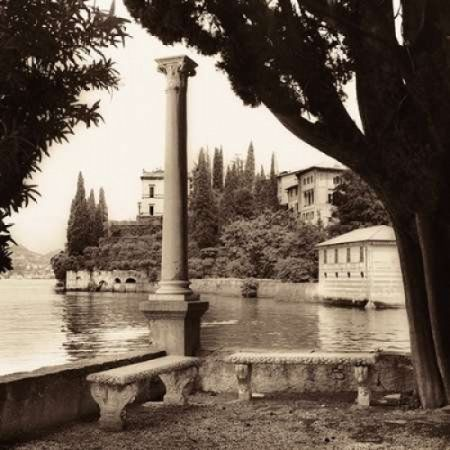 Posterazzi Villa Contarini Lecco Canvas Art - Alan Blaustein (24 x 24)