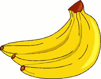 Banana printable. Clip art x curious