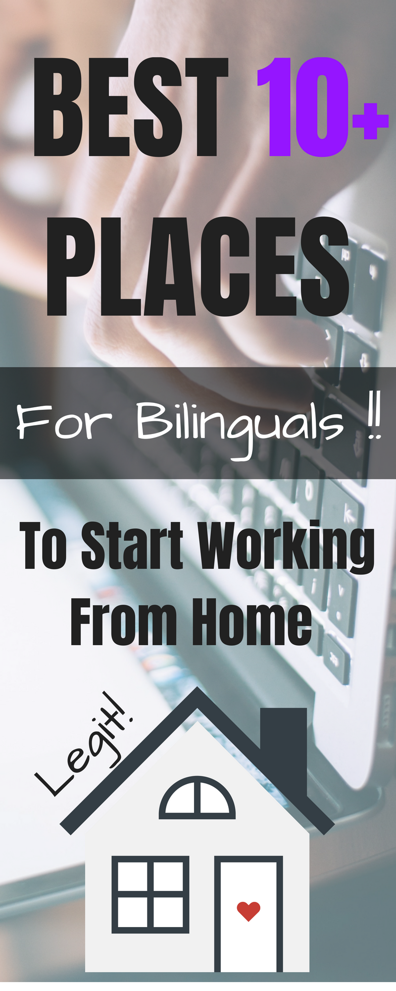 Best Legit Places That Let Bilinguals And Multilinguals Work From Home Translating Subtitling Doing Working From Home Work From Home Jobs Work From Home Moms