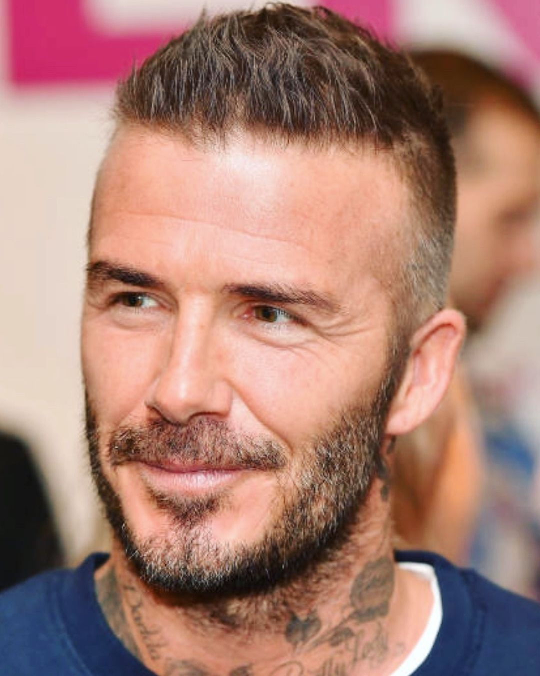 How To Get David Beckhams New Shorter Textured Haircut In 2018