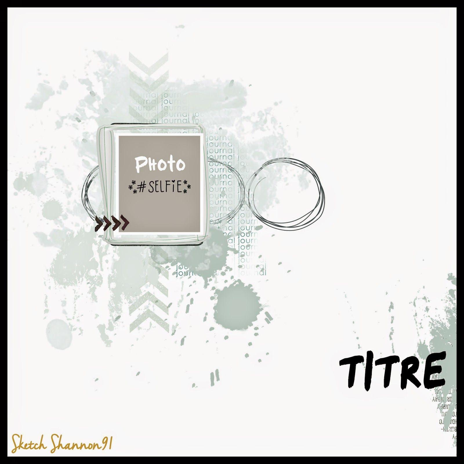Scrap Plaisir shannon91: DT Spray & Scrap : sketch et challenge ...