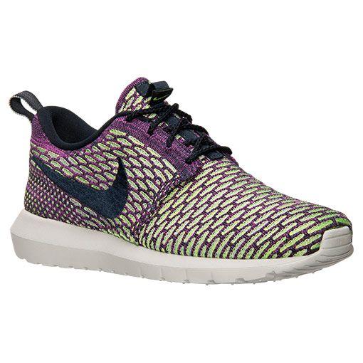 pretty nice 2e499 05127 Men's Nike Roshe NM Flyknit Casual Shoes | Finish Line ...