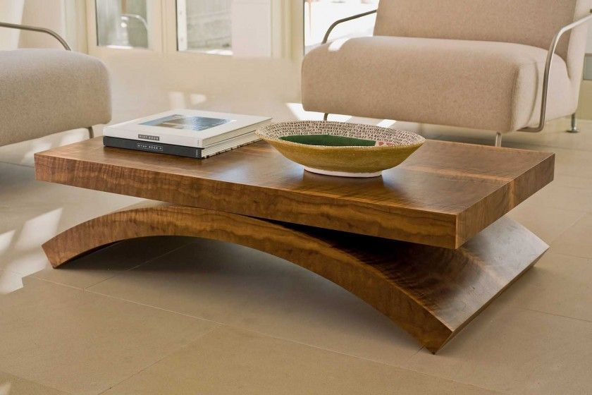 Masculine Modern Wooden Coffee Tables Brown Wood Cof Furniture