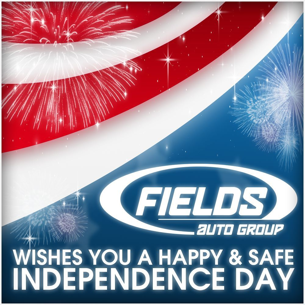 Happy Independence Day! We are closed today for the
