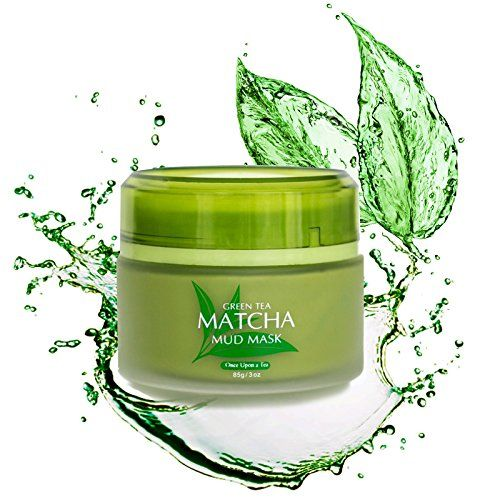 Photo of Green Tea Matcha Facial Mud Mask, Removes Blackheads, Reduces Wrinkles, Nourishing, Moisturizing, Improves Overall Complexion, Best Antioxidant, Skin Lightening & Anti Aging, All Skin Face Types