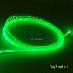 34% OFF ] Diameter 3Mm *2M Side Glow Fiber Optic Cable With Skirt
