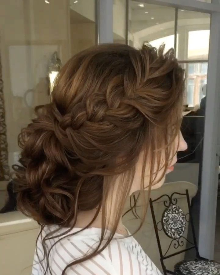 Wedding Hairstyle Crown: Braided Crown Wedding Hairstyle Inspiration