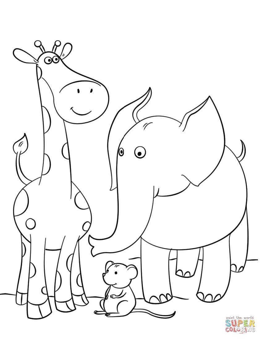 Resultado de imagen para imagenes de jirafas para colorear e ...