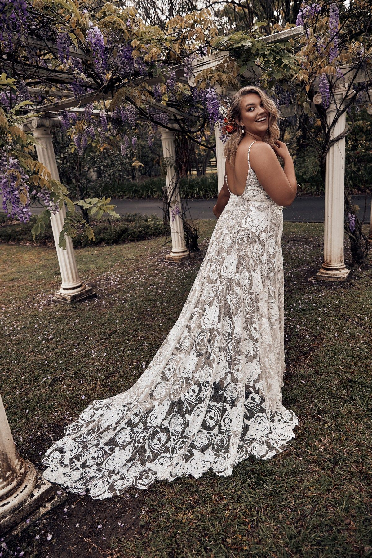 01a237be790 Curvy bride and plus size bride style by Grace Loves Lace. This is the Rosa  gown from the ICON collection. See the full collection on Love My Dress® UK  ...