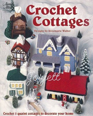 Tissue Box Cover Cottages Annies Crochet Patterns Tissue Box