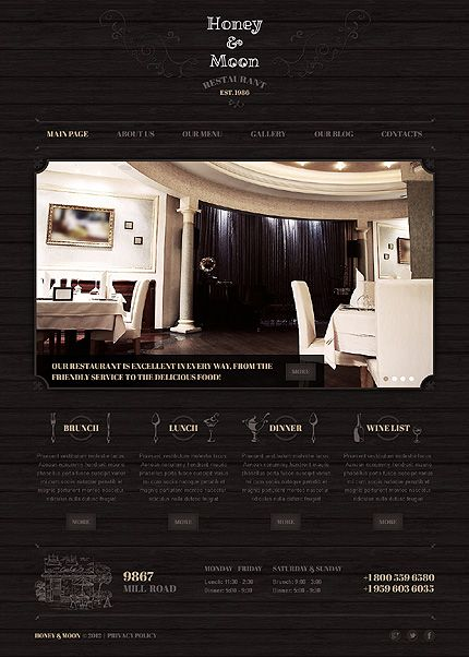 Stunning Retro And Vintage Web Design Templates Entheosweb Joomla Templates Vintage Web Design Website Template Design