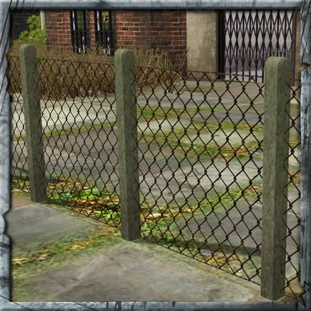Pin by Nessie Cook on ☆ Sims 3 Fences ☆ | Pinterest | Wire fence ...