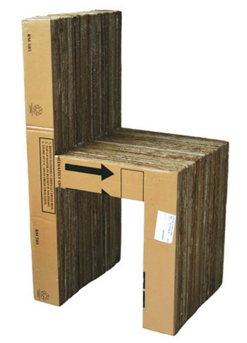 Marvelous Cardboard Chair