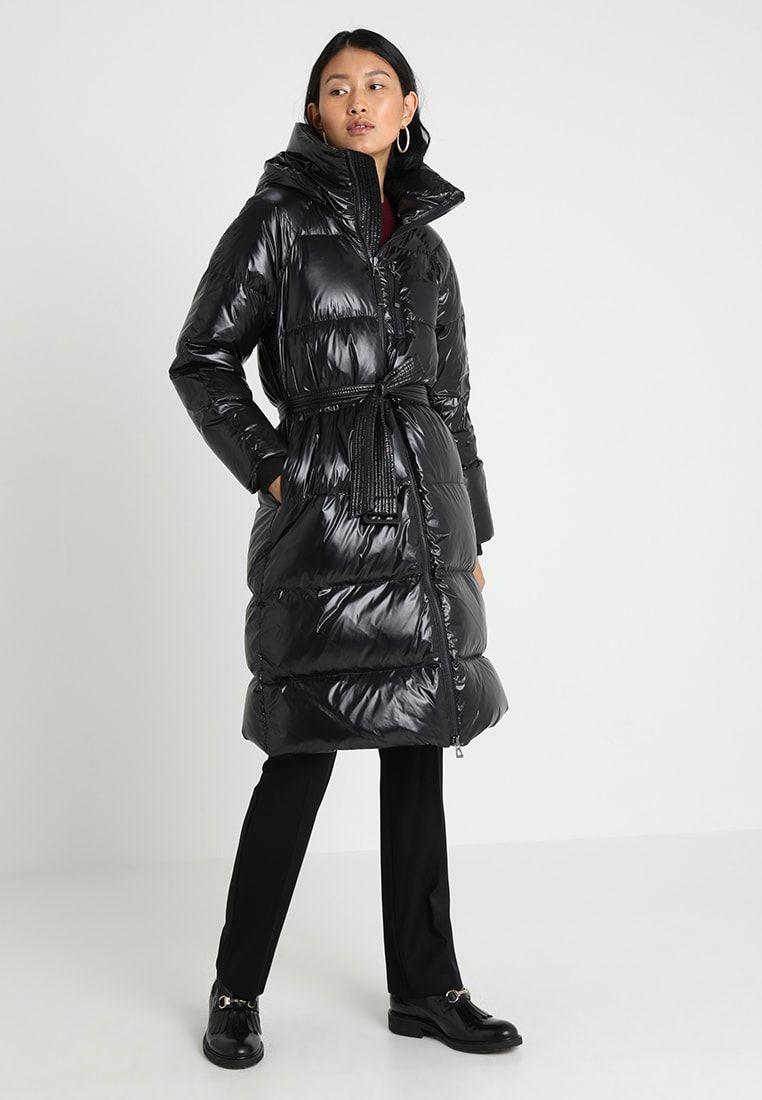 gut kaufen Online bestellen geschickte Herstellung LONG COAT - Daunenmantel - true black @ Zalando.de 🛒 in ...