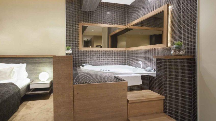 Soluzioni Bagno ~ Soluzioni per il bagno aperto in camera da letto