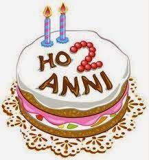 2 Anni Con Voi Giveaway Buon Compleanno Compleanno Torte Di Compleanno