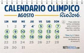 Resultado De Imagen Para Juegos Olímpicos Juegos Olimpicos Juegos Calendario