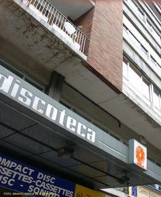 Tienda De Discos Discoteca Calle Toreno Hacia 1970 Oviedo