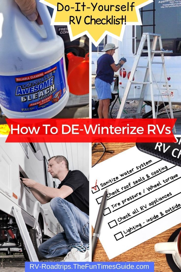 Photo of How To DE-Winterize An RV Yourself